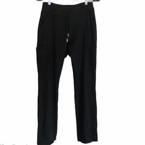 Jaanuu Black Scrub Pants, Size S